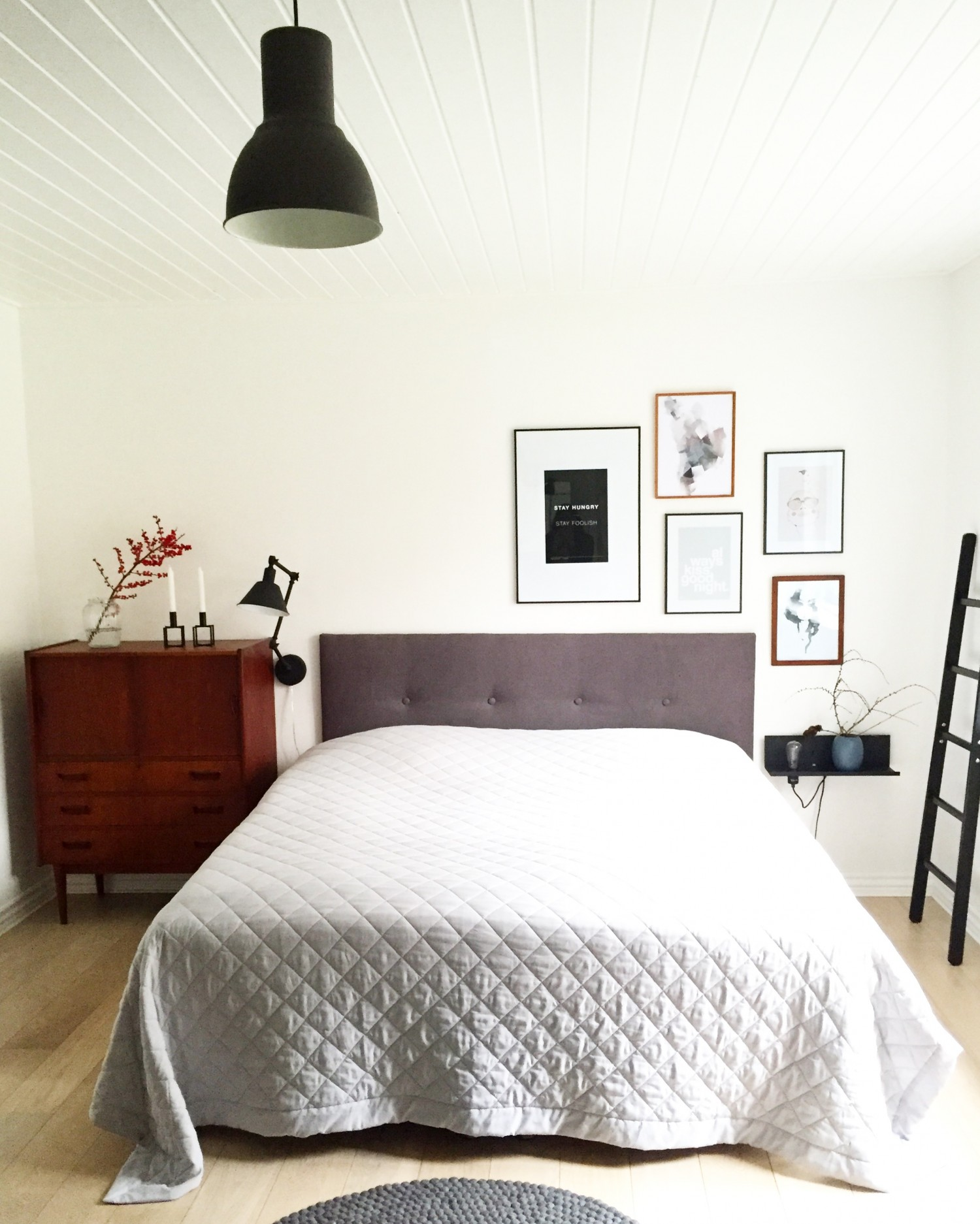 Gør det selv sengegavl i soveværelset