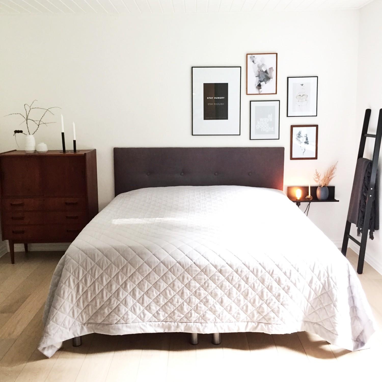 Soveværelset før make-over