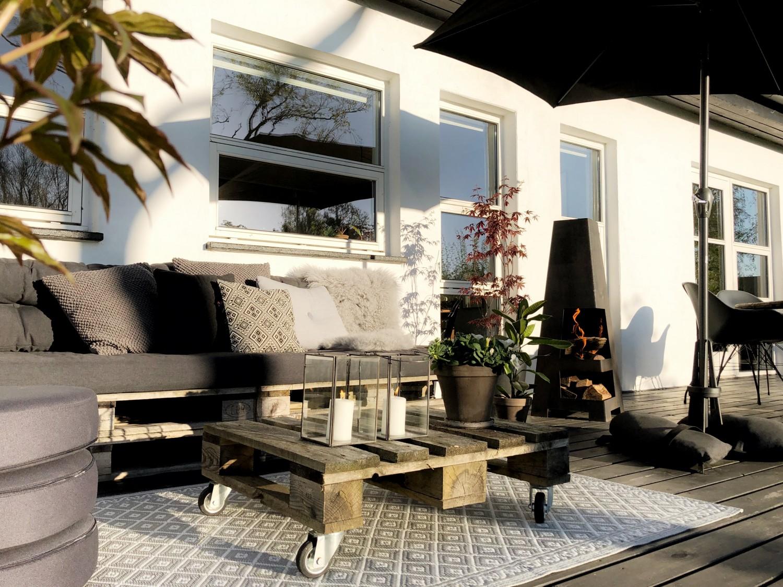 Sommerklar terrasse