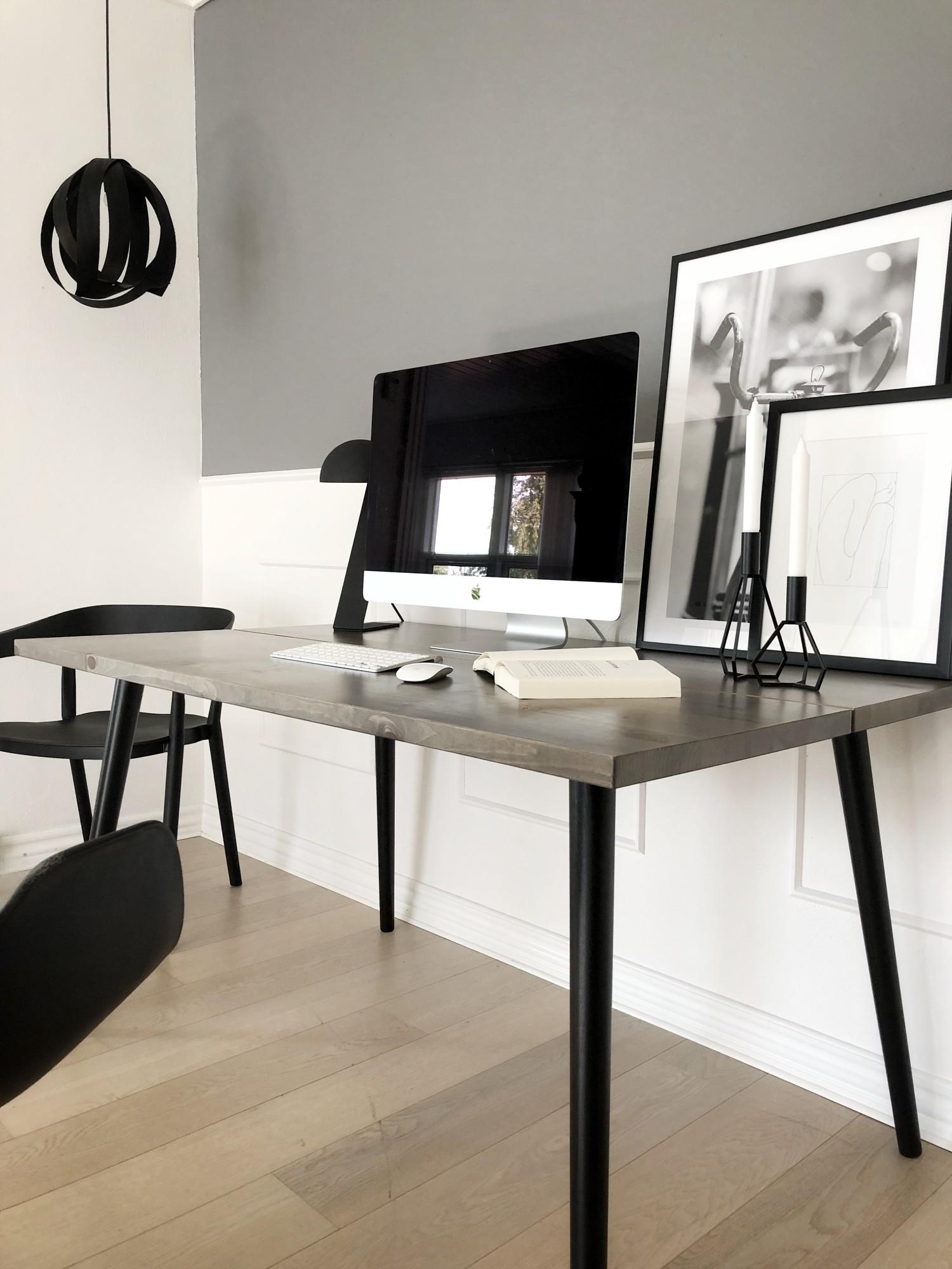 Plankebord på kontoret