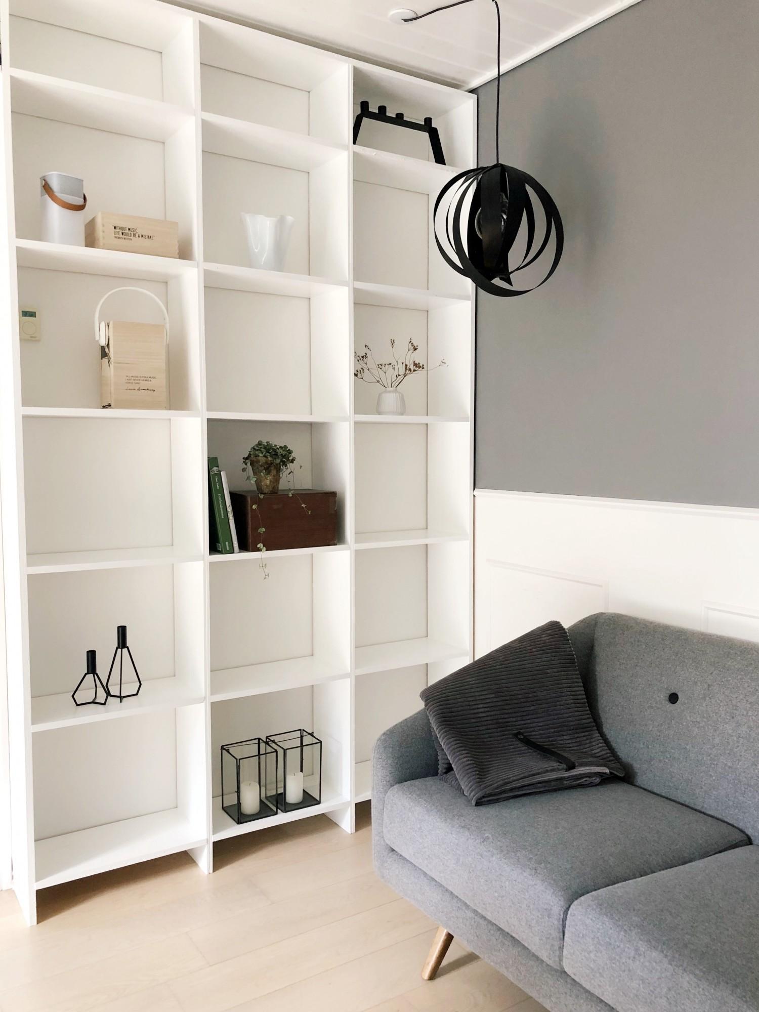 Diy Hjemmebygget Vaeg Til Vaeg Bogreol Livingonabudgetdk