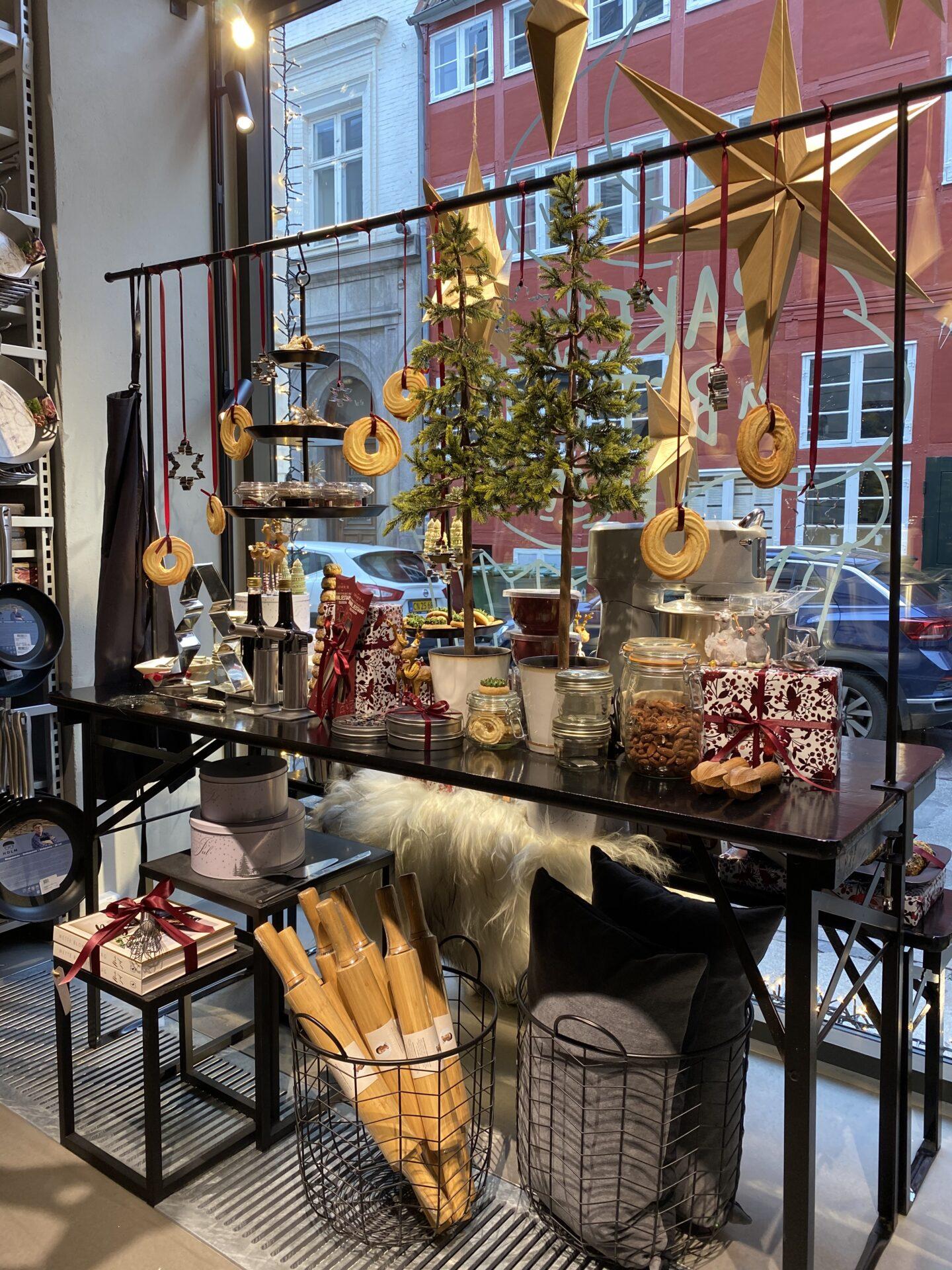 Julevindue i Kitchen Living Dinning butik