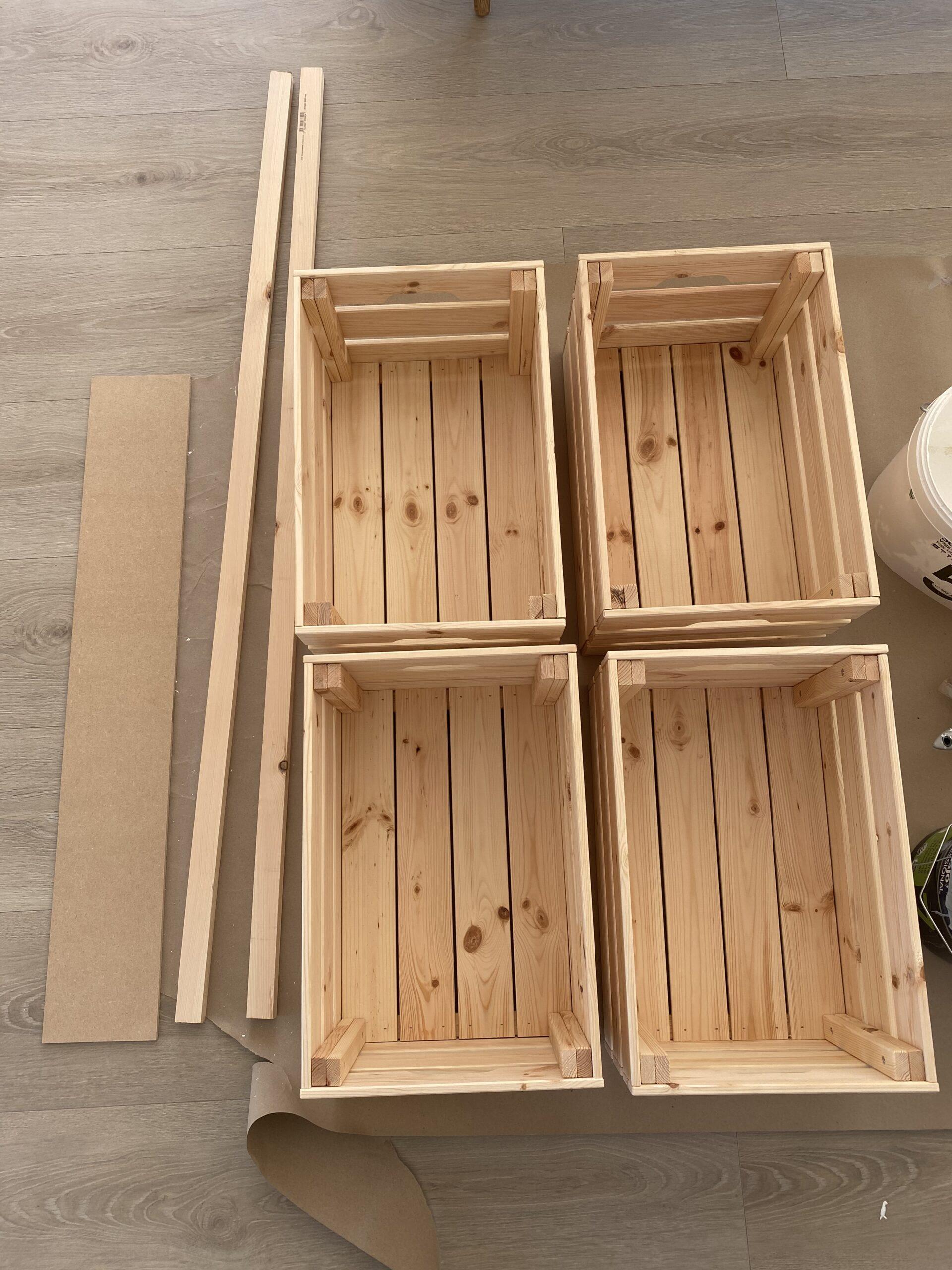 Materiale til DIY Isbod