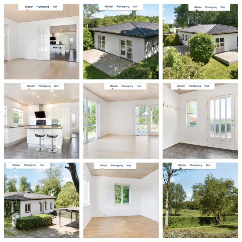 Billeder af huset da vi købte det